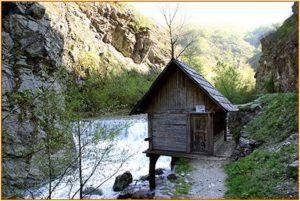 Iaz - Rezervaţia mulinologică Cheile Rudariei Caras Severin